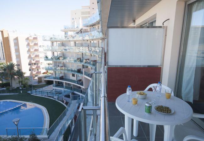 Apartamento en Calpe - Flats Friends Borumbot 1 dormitorio vistas a la piscina